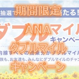 <期間限定>ANA国内線ダブルマイルキャンペーン(2020/7/10~9/30)