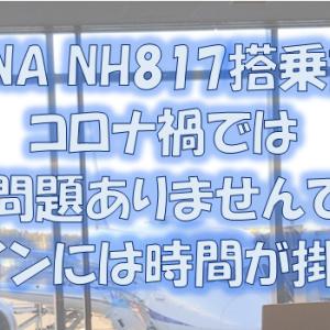 ANA NH817 成田(NRT)-プノンペン(PNH)搭乗記・コロナ禍の国際線搭乗は大変です