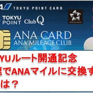 ANA TOKYUルートとは? 最速でANAマイルに交換可能です