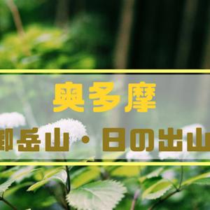 【奥多摩】御岳山・日の出山 つるつる温泉を目指す旅