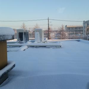 3年前の雪