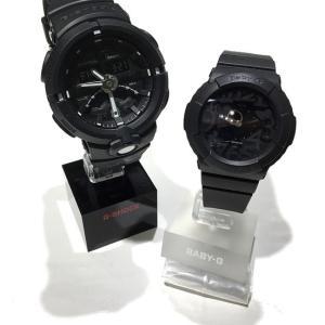 G-SHOCK/BABY-Gをペア時計として楽しむ=メタリックブラックとマットブラック<フジタ蒲田本店>