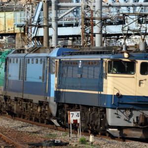 EF65 2101+EH200-901充当8097レなど 貨物列車撮影 6/29