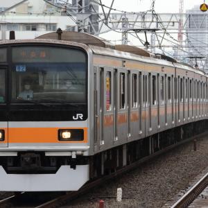 中央快速線の異端車 209系1000番台とE233系T71編成を撮る!