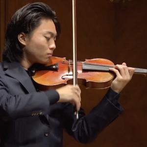 オーガスティン・ハーデリッヒ氏のバイオリンマスタークラス
