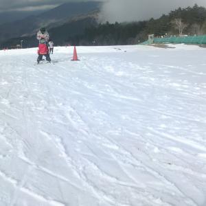 大井川上流にあるスキー場に行ってきました