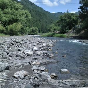3人で笹間川に行って来ました。