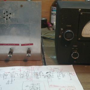 HAMバンド用デリカスイッチ式コンバーター