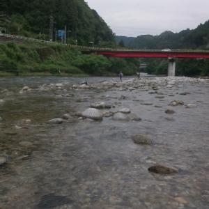 浦川、泳がせ道場