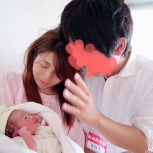 本日、女の子を出産しました♡38w6d