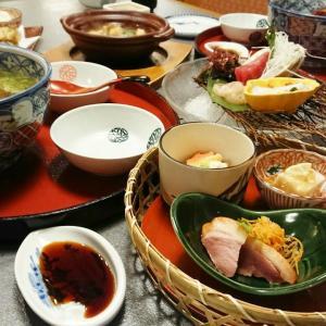 【外食】晩ご飯★和食セット、お蕎麦や天ぷら、お惣菜色々~♪