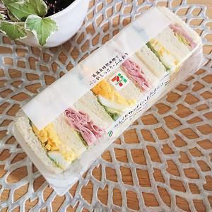 【コンビニパン】セブンイレブン★ひとくちサンドハムたまご&トーストサンドハムチーズ♪