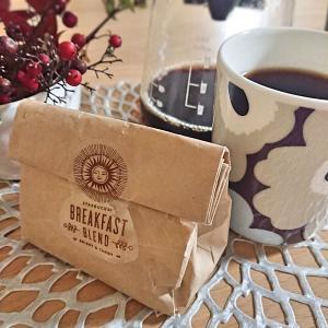 【スタバ】ブレックファーストブレンドコーヒー☆マリメッコマグでおうちカフェを楽しむ♪
