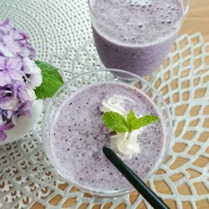 【飲み物】スムージー★紫キャベツを入れてみたら意外に美味しかった件♪