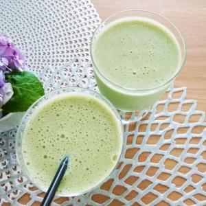 【飲み物】スムージー★美味しい&青くさくない小松菜のスムージー♪