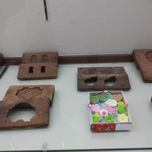 「旧神足屋」の 「おかしの木型&茶道具・茶釜蓋の金型」