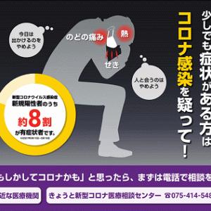 【長岡京市新型コロナウイルス感染状況】7月29日