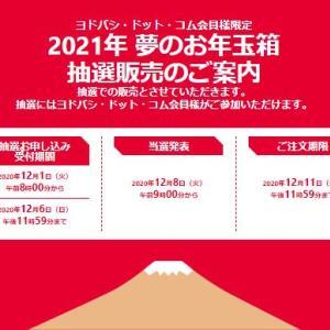 ヨドバシカメラ福袋【2021年】ネット予約は12月1日朝8時開始!条件は?
