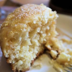 ふわふわホットケーキを 6inchダッチオーブンで ~東側2Fテラスでデュオランチ~
