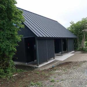 内山牧場キャンプ場 6月20日(土)限定再オープン!! ~改装した炊事場・シャワー・トイレは、キレイになったけど数は…~
