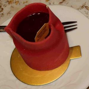 2月14日に1個¥1,200円のケーキ・マリアージュフレール銀座本店の味をフレーバーティー・マルコポーロと共に
