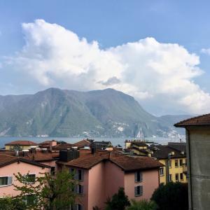 ツアーで訪れた街、ルガーノ