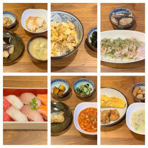 1月15日〜1月21日に食べた夕食。私が唯一作る鶏のむね肉レシピ。
