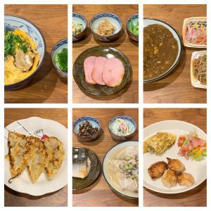2月12日〜2月18日に食べた夕食。ホットプレートで餃子を焼きました!もちろん夫担当で。