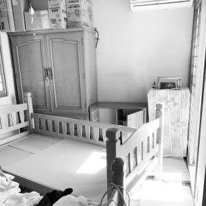 あの父が不用品ダンボール6つ分捨てた!物置化した寝室も少し片付けました。