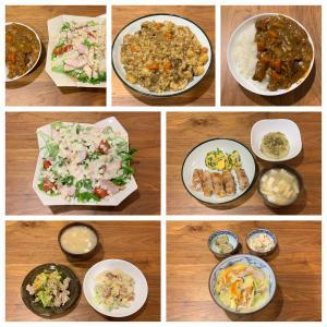 3月18日〜3月24日に食べた夕食。夫vs嫁のカレー。美味しいのはどっち!?
