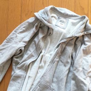 捨てた服8点。今後買わないでおこうと思っているもの。
