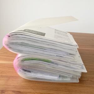 取扱説明書は捨てない派。誰でもわかるファイル収納をおすすめする2つの理由。