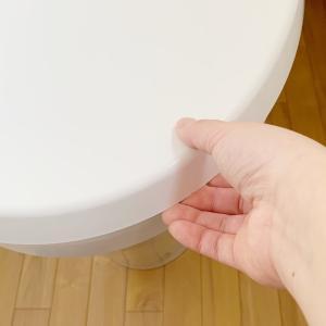 トイレの蓋カバーをしないとこうなるのね。