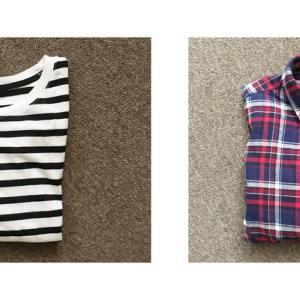 ボーダーとチェック最高か。少ない服を長持ちさせたいなら柄物を取り入れるのもありかも。