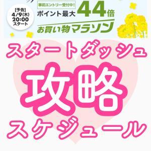 【20−24時】楽天お買い物マラソン攻略『スタートダッシュスケジュール』◆20.04.09