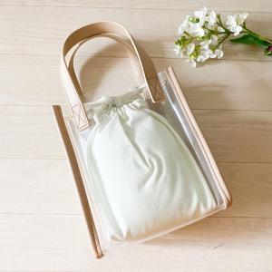【GU】私には難しそうな、新作のクリアミニバッグ……