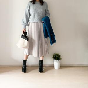 【GU】限定価格は今日まで!フェイクレザースカート