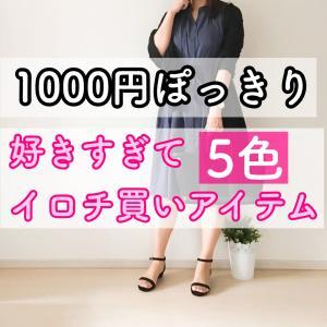 【1000円ぽっきり】好きすぎてイロチ買いしたアイテム 買い周りにもオススメ