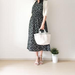 【DRESS掲載】UNIQLO大人気の花柄ワンピ 3990円で涼しくて大人かわいい
