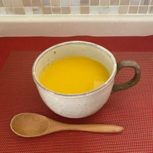 冷製カボチャスープは、ダイエットの見方