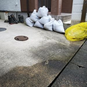 上条地区での下水切替工事は、大雨にもコロナにも負けず上々