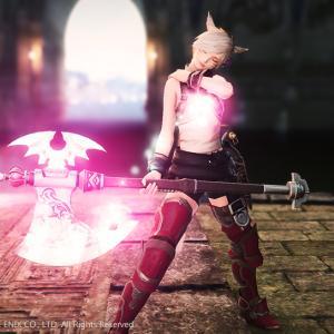 【FF14初心者向け】Lv50から装備できるかわいくて光るミラプリ用武器