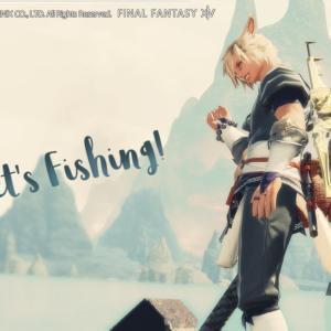 漁師Lv70クエまで終わりました