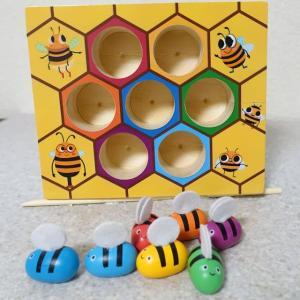 ウロコのがっちゃん 蜂のおもちゃ
