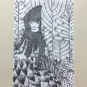森を守る少女