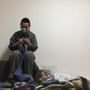 墨絵師マスクデビュー!!即、引退…