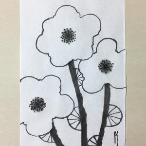 穏やかに咲く花