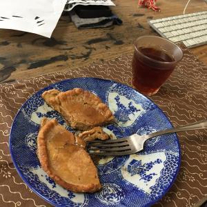 進化する薄焼き卵 (ミックスナッツパンケーキ)