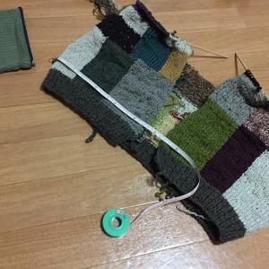 夏に向かうこの季節にウールのカーディガンを編むのか(7)諸行無常。体型もまたしかり