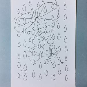 葉っぱの傘